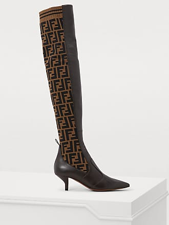 26c370eb6af Fendi® Thigh High Boots − Sale  at USD  1