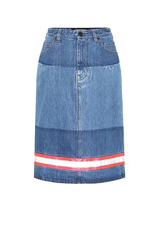 CALVIN KLEIN 205W39NYC Denim midi skirt
