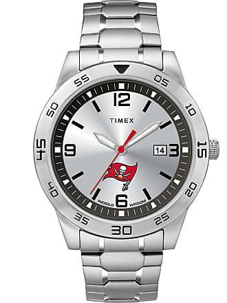 Timex Timex Watch Mens Citation Tampa Bay Buccaneers Silver-Tone/silver-Tone/silver-Tone Item Twzfbucmlyz