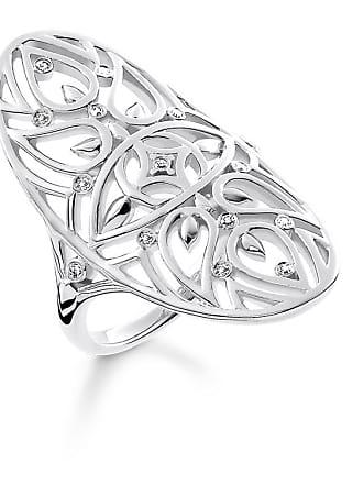 f04101557acc Thomas Sabo Thomas Sabo anillo color plata D TR0025-725-21-48