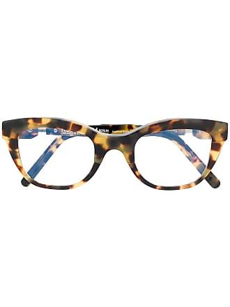Kuboraum cat eye frame glasses - Amarelo