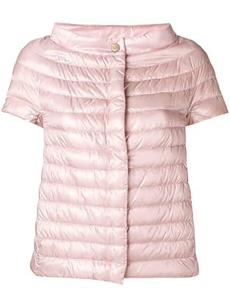 Herno sleeveless feather down jacket - Pink