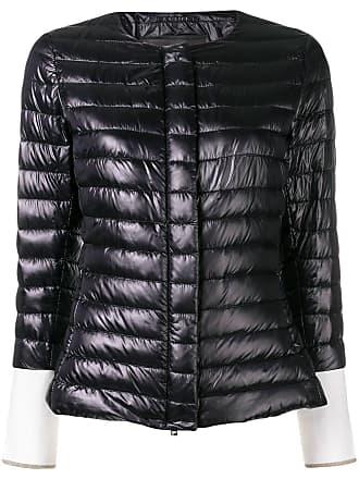 Herno zipped puffer jacket - Black