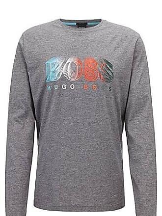 df2acbd6559 BOSS T-shirt à manches longues avec logo graphique multicolore89.95