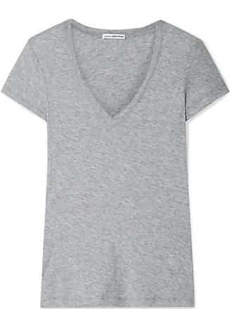 e7eba1b61b3 James Perse Casual Slub Supima Cotton-jersey T-shirt - Gray