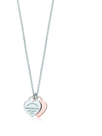 1c74db8fa Tiffany & Co. Return to Tiffany double heart pendant in Rubedo metal and  silver,