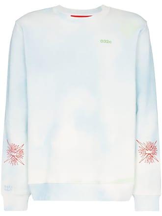 032c Cosmic Workshop cotton sweatshirt - Multicoloured