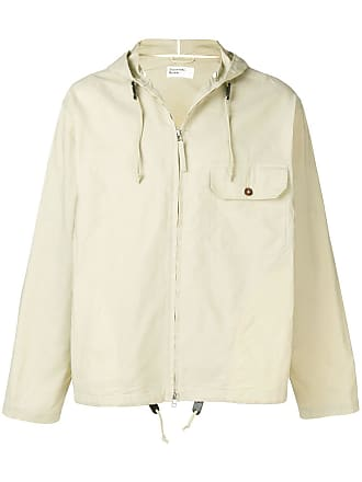 Universal Works Hybrid Wax Cotton Fistral jacket - Neutro