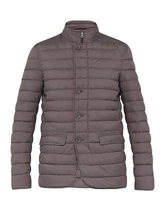 Herno Quilted Jacket - Mens - Dark Grey