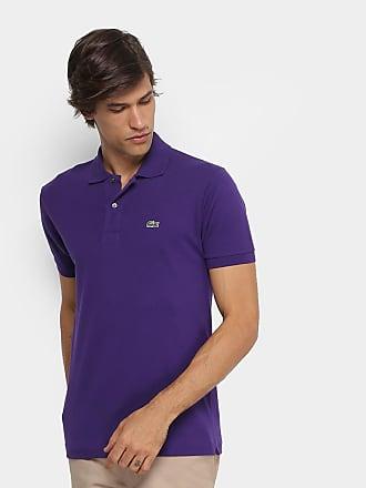 118742c4dccff Lacoste Camisa Polo Lacoste Piquet Original Masculina - Masculino