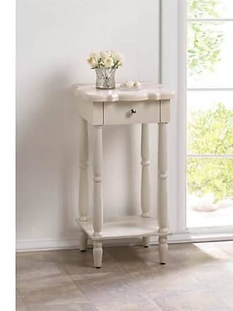 Zingz & Thingz Zingz and Thingz Chatham Side Table in White