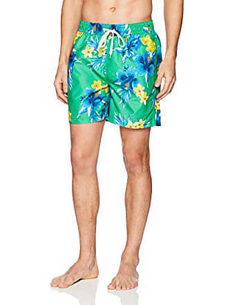 4e7780efc2 Kanu Surf Mens South Beach Quick Dry Volley Swim Trunks, Green, Large
