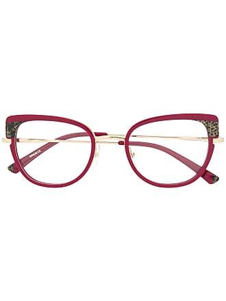 Etnia Barcelona Armação de óculos Trapani oversized - Rosa