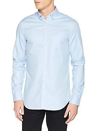 40536654482 Lacoste CH9623 Chemise habillée Homme Bleu (Noir Phoenix Lagon Nsv) Large ( Taille