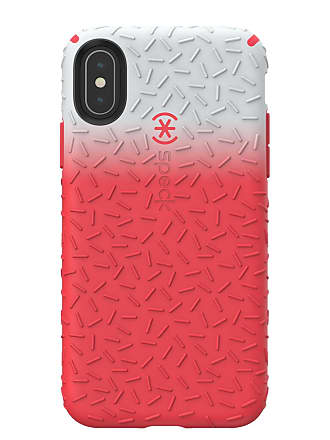 SPECK Red/Grey iPhone XS/X Candyshell Case