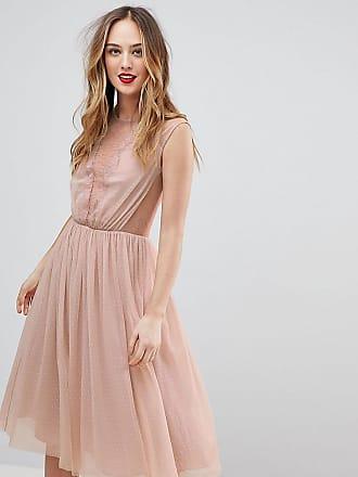 Kleid apricot nagellack