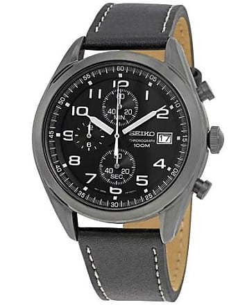 Seiko Neo Sports Chronograph Black Dial Mens Watch SSB277P1