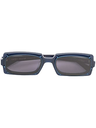 Karen Walker Óculos de sol retangular Turning - Azul