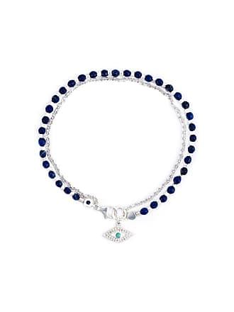 Astley Clarke Pulseira de prata com safiras e lapis lazuli