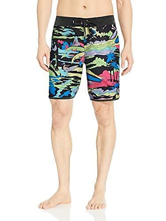 75f14f18fd Quiksilver Mens Highline Feelin FINE 19 Boardshort Swim Trunk, Blue  Graphite, 33