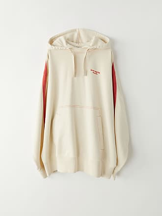 Acne Studios FN-MN-SWEA000023 Ecru beige Hooded sweatshirt