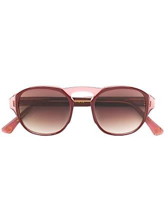 Emmanuelle Khanh round frame sunglasses - Rosa