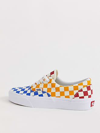 5ed92bea34 Vans Era colour block checkerboard trainers