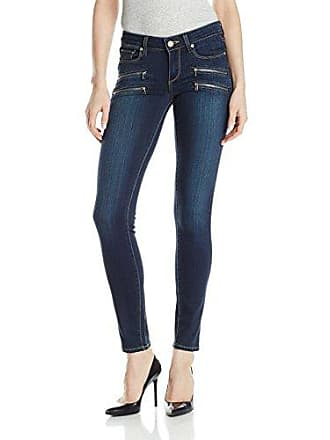 Paige Womens Edgemont Double Zip Skinny Jean, Nottingham No Whiskers, 25