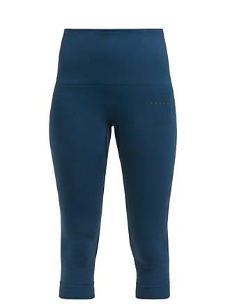 Falke Shape Performance Cropped Leggings - Womens - Blue