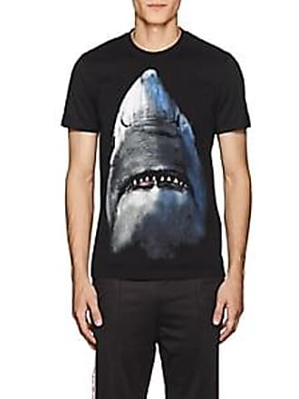 9d8fd15d2c8f2 Givenchy Mens Shark-Print Cotton T-Shirt - Black Size L