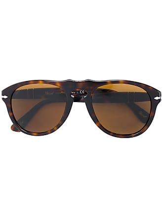 Persol Óculos de sol redondo - Marrom