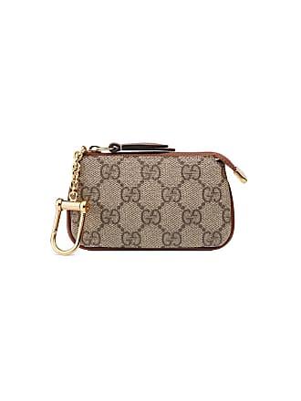Gucci GG Supreme key case - Neutrals