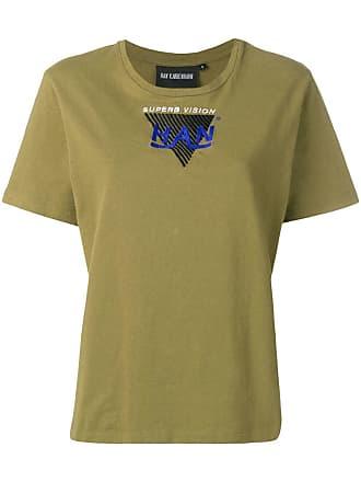 Han Kjobenhavn Camiseta com logo bordado - Verde