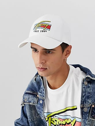 6229f3f855 Tommy Jeans baseball cap with signature logo in white