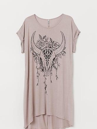 H&M H & M+ T-shirt Dress - Brown