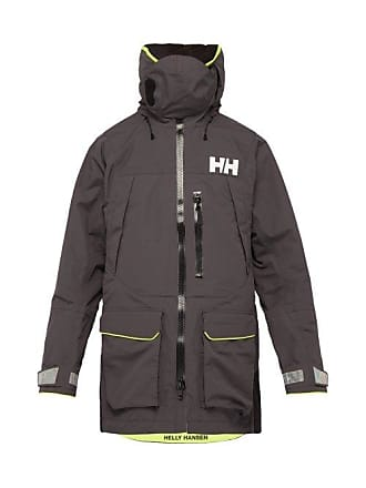 daf21d5acee Helly Hansen Aegir Hooded Helly Tech Sailing Jacket - Mens - Black