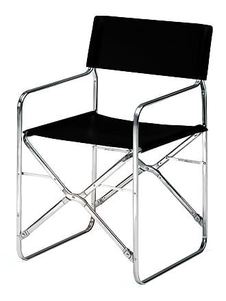 ZANOTTA Design April Folding Outdoor Chair Black