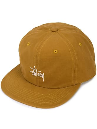 f63fea151bd Stüssy embroidered detail baseball cap - Yellow