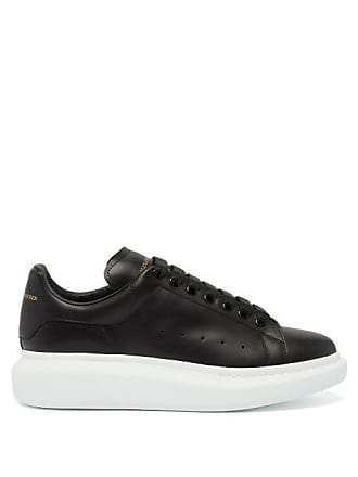 3cf52ff3da3a Delivery  free. Alexander McQueen Alexander Mcqueen - Raised Sole Low Top  Leather Trainers - Mens - Black