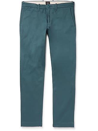 J.crew 484 Slim-fit Stretch-cotton Twill Chinos - Teal