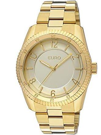 a6cd3cebaa5bd Euro Relógio Euro Feminino Santarém Eu2036qs 4d - Dourado