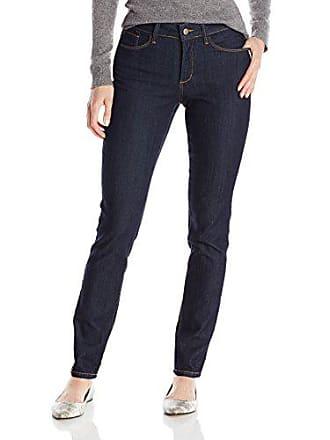 NYDJ Womens Alina Legging Fit Skinny Jeans, Dark Enzyme Wash, 14