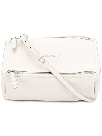 Givenchy Bolsa transversal Pandora de couro - Branco