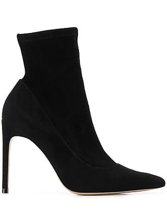 Sophia Webster Ankle boot Rizzo de camurça e couro - Preto