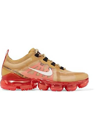Nike Air Vapormax 2019 Ripstop And Mesh Sneakers - Gold