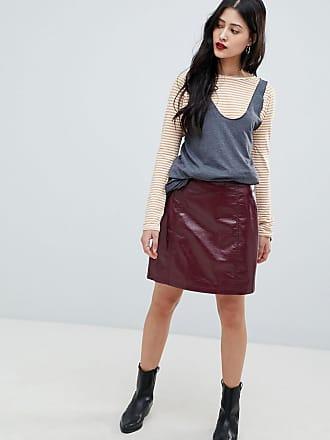 Vero Moda high shine skirt - Red