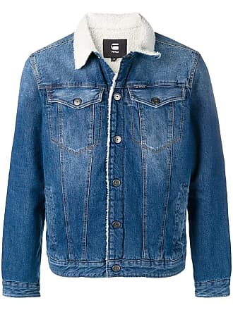65d3e541a22 G-Star Raw Research wool lined denim jacket - Blue