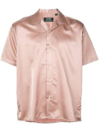 Opening Ceremony x Gitman Brothers satin bowling shirt - Rosa