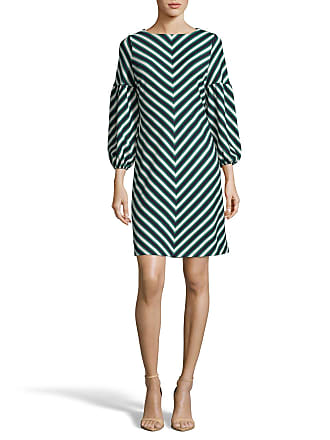 5twelve Chevron Balloon-Sleeve A-Line Dress