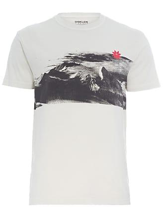 Osklen T-SHIRT MASCULINA ICE MOUNTAINS - BEGE